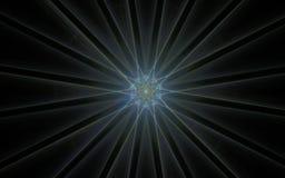 Digital frambragd bild i form av abstrakta geometriska former av olika skuggor och färger för bruk i rengöringsdukdesign och dato Royaltyfri Foto
