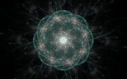Digital frambragd bild i form av abstrakta geometriska former av olika skuggor och färger för bruk i rengöringsdukdesign och dato Royaltyfri Fotografi