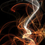 Digital fume. Abstract colored background with smoke lines Royalty Free Stock Photography
