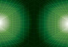 Digital futuristic green background Stock Images