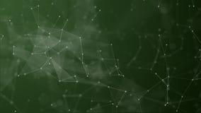 Digital futuristica del punto e della linea collegamento royalty illustrazione gratis