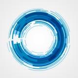 Digital gör sammandrag geometriska linjer cirklar ljus bakgrund och stordian Arkivbilder