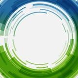 Digital gör sammandrag geometriska linjer cirklar ljus bakgrund och stordian Royaltyfria Bilder