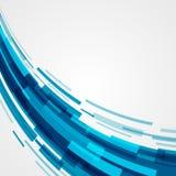 Digital gör sammandrag geometriska linjer ljus bakgrund och stordian Royaltyfri Bild