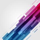 Digital gör sammandrag geometriska linjer ljus bakgrund och stordian Royaltyfri Fotografi