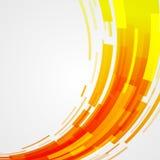 Digital gör sammandrag geometriska linjer ljus bakgrund och stordian Arkivfoto