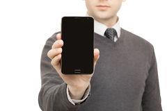 Digital gadgets, tablets and smartphones Stock Photo