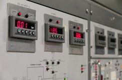 Digital gauges Stock Image