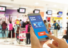 Digital-Geldbörse Lizenzfreie Stockbilder