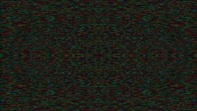 Digital generated glitched footage, holographic bad tv video fx.