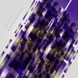 Digital geometriska linjer abstrakt ljus vektorbakgrund Arkivfoto