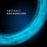 Digital geometriska linjer abstrakt vektorbakgrund Royaltyfria Bilder