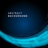 Digital geometriska linjer abstrakt vektorbakgrund Royaltyfri Fotografi
