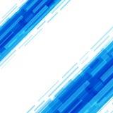 Digital geometriska linjer abstrakt vektorbakgrund Arkivbild
