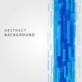 Digital geometriska linjer abstrakt vektorbakgrund Arkivfoton