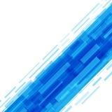 Digital geometriska linjer abstrakt vektorbakgrund Fotografering för Bildbyråer