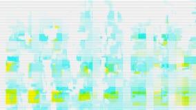 Digital-Geräuschhintergrund-Störschubschirm, Technologie futuristisch stock abbildung