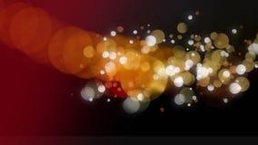 Digital gerou a animação da bolha clara efervescente ilustração royalty free
