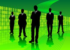 Digital-Geschäft Lizenzfreie Stockfotos