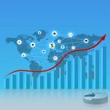 Digital-Geschäftsschablone Lizenzfreies Stockbild