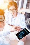 Digital-Gesundheits-Konzept stockbild
