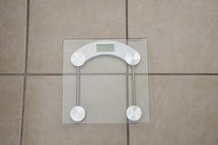 Digital-Gewicht Skala Lizenzfreie Stockbilder