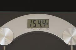 Digital-Gewicht Skala Lizenzfreie Stockfotos