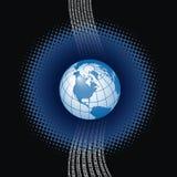 Digital Global Background Royalty Free Stock Image