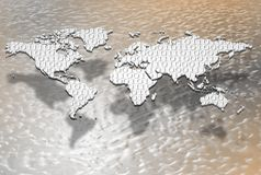 Digital globalization Stock Images