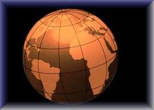 Digital globe Royalty Free Stock Image
