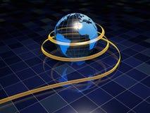 Digital globe Royalty Free Stock Photos