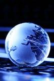 Digital globe Royalty Free Stock Photo