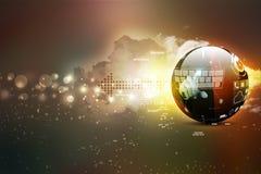 Digital globe Stock Photos