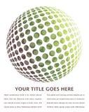 Digital globe design. Royalty Free Stock Photography