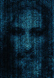 Digital god. In the cyberspace Stock Images