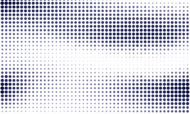 Digital gradient with points. Abstract futuristic panel. Dotted Backgound. Monochrome halftone pattern Vector illustration. Digital gradient with points Royalty Free Stock Photography