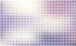 Digital gradient with points. Abstract futuristic panel. Dotted Backgound. Monochrome halftone pattern Vector illustration. Digital gradient with points Stock Images