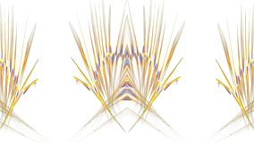 Digital grafikdesign på vit bakgrund vektor illustrationer