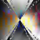 Digital Graphic Equalizer Royalty Free Stock Image