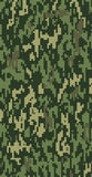 Digital Green Camouflage Royalty Free Stock Image