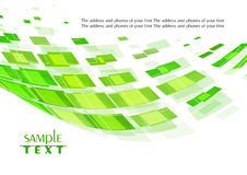 Digital green card Stock Photo