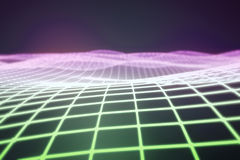 Digital grid background. Abstract digital grid background. 3D Rendering Stock Photography