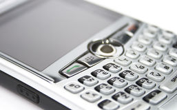 Digital Handheld Email. Close up of a digial telephone Stock Photography