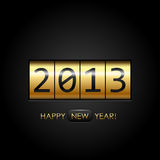 Digital Happy New Year!. Background Royalty Free Stock Photo