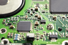 Digital hardware closeup Royalty Free Stock Images