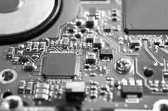 Digital hardware closeup Royalty Free Stock Image