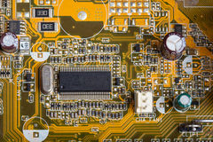 Digital hardware closeup Royalty Free Stock Photography