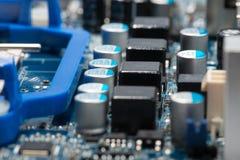 Digital hardware closeup Stock Images