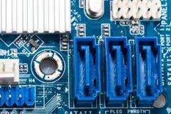 Digital hardware closeup Royalty Free Stock Images