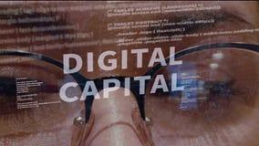 Digital-Haupttext auf Hintergrund des Entwicklers stock abbildung